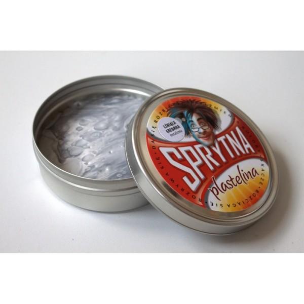 Sprytna Plastelina – Metaliczna SREBRNA
